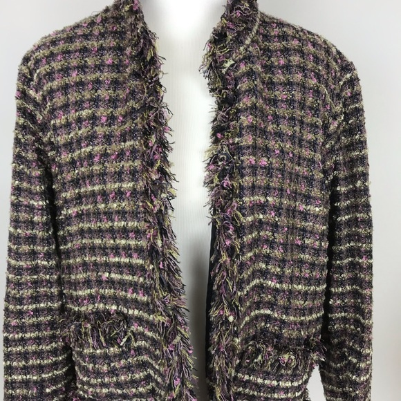102f685c Chico's Jackets & Coats | Chicos Chico Jacker Colorful Size 2 | Poshmark